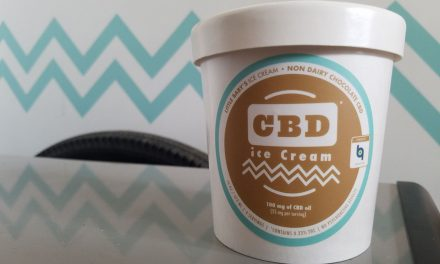 Philadelphia's Little Baby's Ice Cream Release Vegan Choc Dessert Infused with CBD