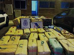 Five & Half Tonnes Of Hashish Confiscated By Police off Gibraltar