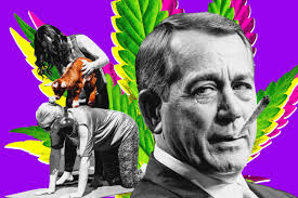 Boehner Is The Cannabis Avenger …