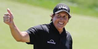 Phil Mickelson . CBD @ The Masters?
