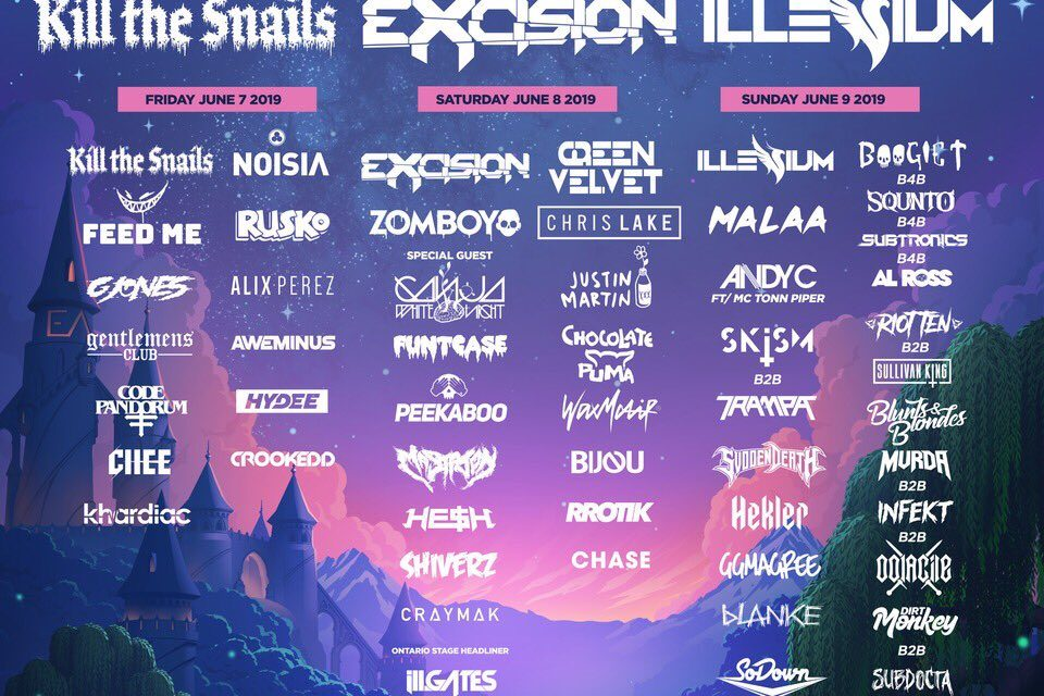 Canadian EDM / Bass Festival Will Allow Weed On Site