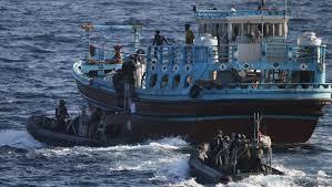 Australian Navy frigate HMAS Ballarat has now intercepted over 9 tonnes of hash on its latest deployment