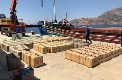 Moldova Flagged Freighter Manned By Ukrainians Stopped In The Med With 10 Tonnes Of Hash