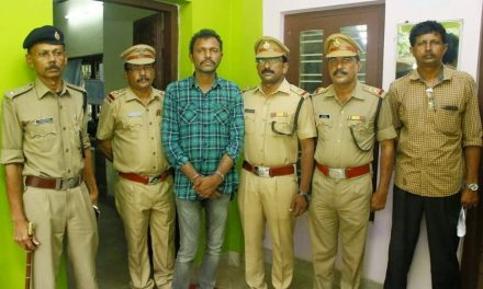 Hashish Smuggler Escapes Cops In Southern India