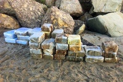Coasties: Bales of weed wash up on Malibu beach