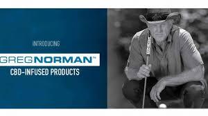 Greg Norman launches CBD Line