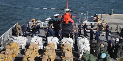 US Coastguard Seizes $10 Million Black Market Weed