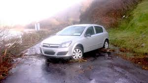Ireland Man Drives Silver Opal Astra Into Electricity Pole Admits He Was Stoned