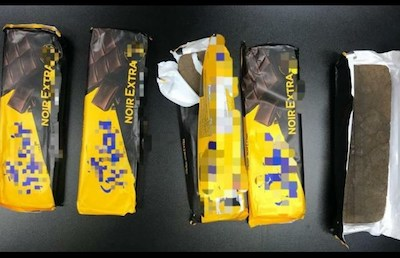 Lebanon: ISF arrests woman for smuggling hashish in chocolate wrappers