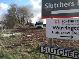 UK:  Cannabis farm found on Slutchers Lane, Warrington