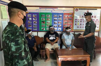 Thailand: Village head arrested, 480kg of marijuana seized