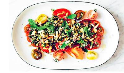 Hemp tabbouleh recipe