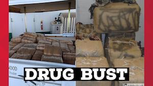 Texas: Border Patrol seizes a ton of marijuana at Big Bend Sector