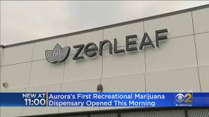 ZenLeaf, Aurora Illinois 1st recreational marijuana dispensary, opens