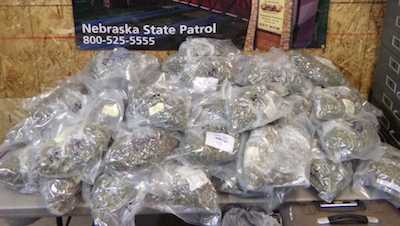 Troopers find 49 pounds of marijuana in I-80 traffic stop