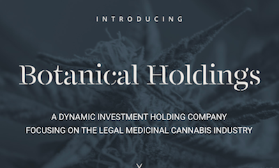 Botanical Holdings targets low cost cannabis operator status with year-round cultivation