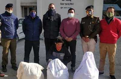India: Over 400 kg drugs seized from Kullu