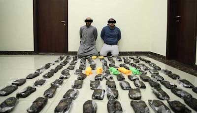 Kuwait: Two attempted to smuggle 200 kg hashish