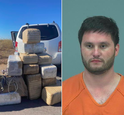 Arizona: 'Dude, you can't have THAT much weed': Arizona bust nets more than 450 pounds of pot