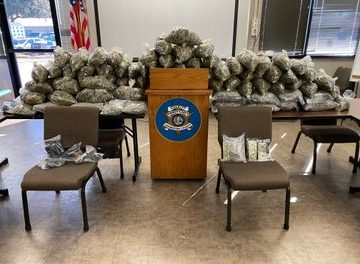 USA: Man charged after 90 lbs. of marijuana found in home