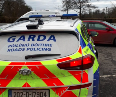 Ireland:  Novice driver arrested after testing positive for cannabis and fined for non-essential travel in Roscommon