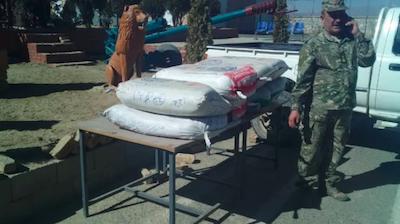 Afghanistan: Logar police seize 360kg of hashish