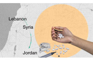 Article: Syria's As-Suwayda: drug trafficking stop on road from Lebanon to Jordan  للمزيد