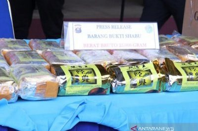 Indonesia: South Sumatra police apprehend 49 suspected drug traffickers, users
