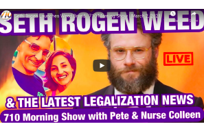 Seth Rogen Launches Weed Brand | 710 Morning Show