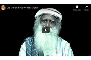 Did Shiva Smoke Weed?
