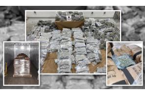 Canada:  Hamilton Police Seize Over $4.5 Million in Cannabis Shipment Destined for U.S