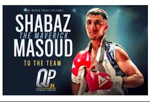 The UK's Next Boxing Superstar, Undefeated Super Bantamweight Shabaz 'the Maverick' Masoud, Signs On As Athlete Brand Ambassador For Brains Pure CBD