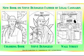 Steve D'Angelo Now Has His Very Own Hemp Colouring Book