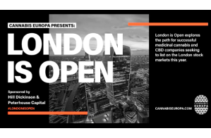 London is Open: The potential for cannabis on the UK Stock Exchanges?