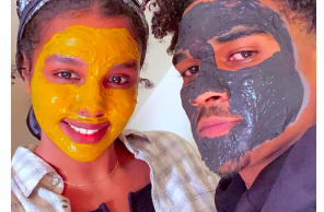 Couple challenges stigmas Black people face in hemp industry with CBD skincare: 'I wanna see more Black and Brown folks in these spaces'