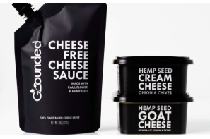 Interesting ??? Grounded Foods Launches 'Imperfect' Cauliflower & Hemp Plant-Based Cheeses