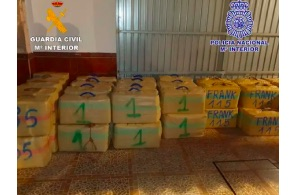 Police Arrest 21 in one of Costa del Sol's Largest Hashish Gangs