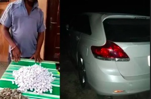 Nigerian  police arrest a 50-year-old drug dealer, Lucky Okpoko