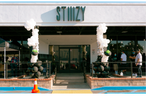 Over 1000 Fans Lined Up To Attend STIIIZY's San Bernardino Store Grand Opening