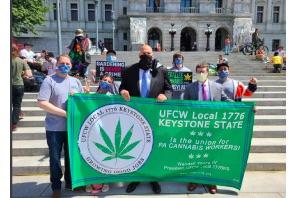 Cannabis activists rally at Pennsylvania capitol