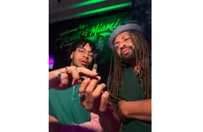 """Ed """"NJWeedman"""" Forchion Passes The Joint to His Son, King Forchion, with His Miami Expansion"""